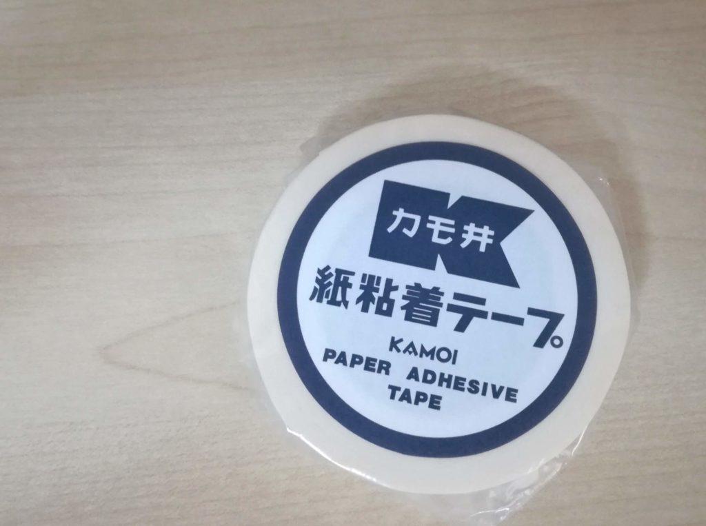 カモ井 復刻マスキングテープ