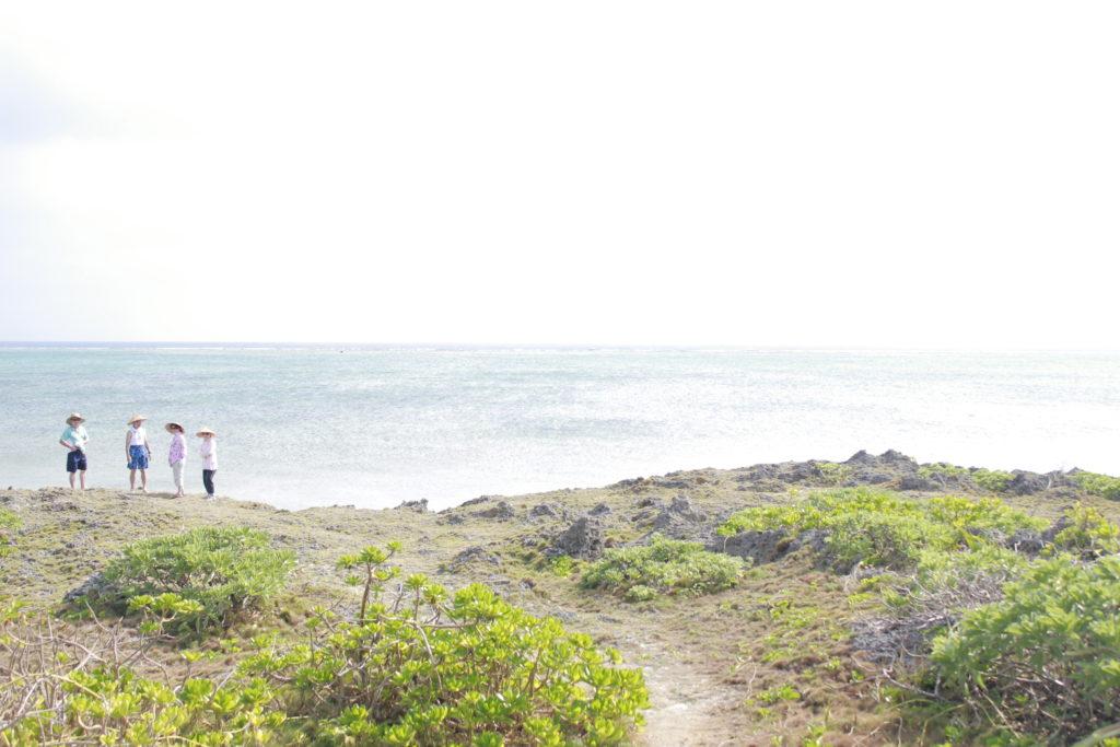 黒島にいた旅人