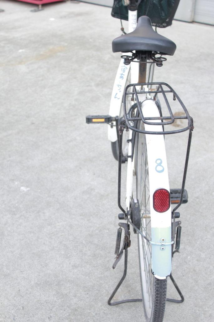 みやた荘で借りれる自転車