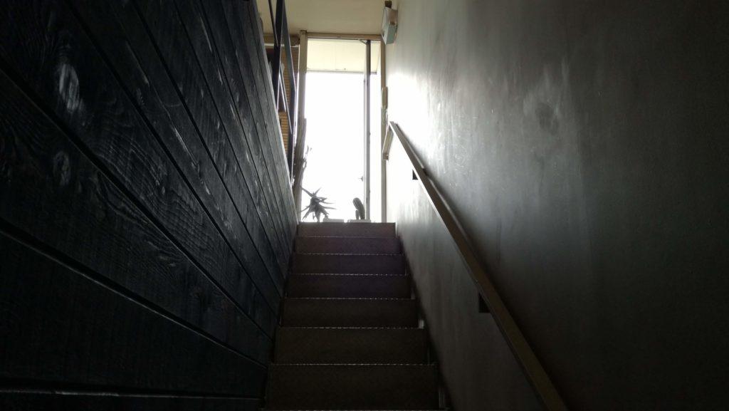 アヂトの2階の「長い階段