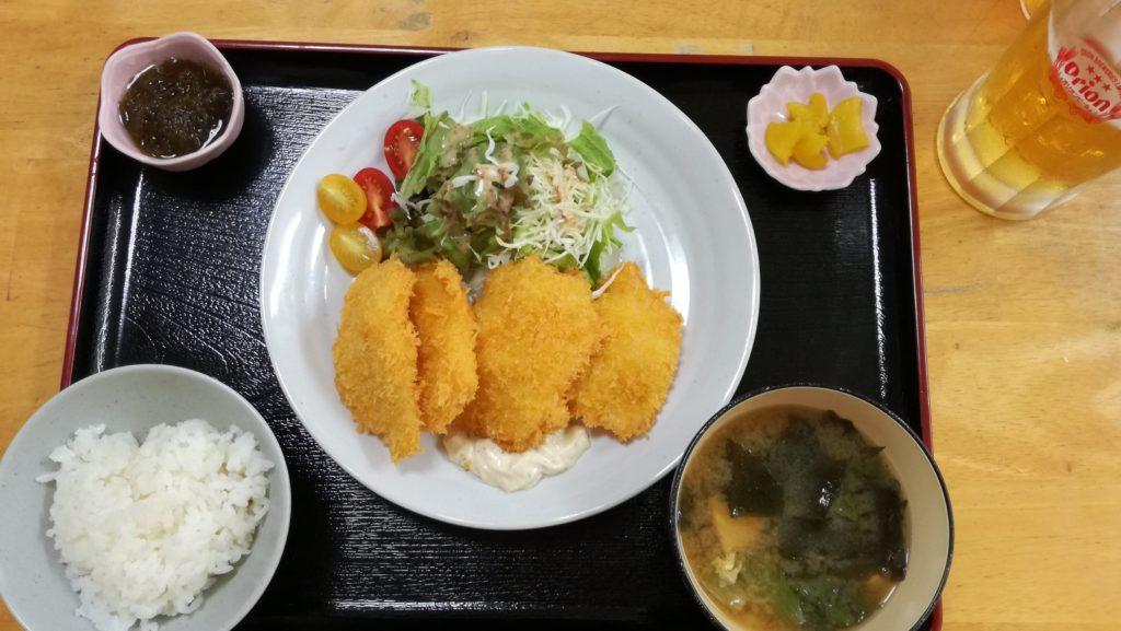 あーちゃんの白身魚定食